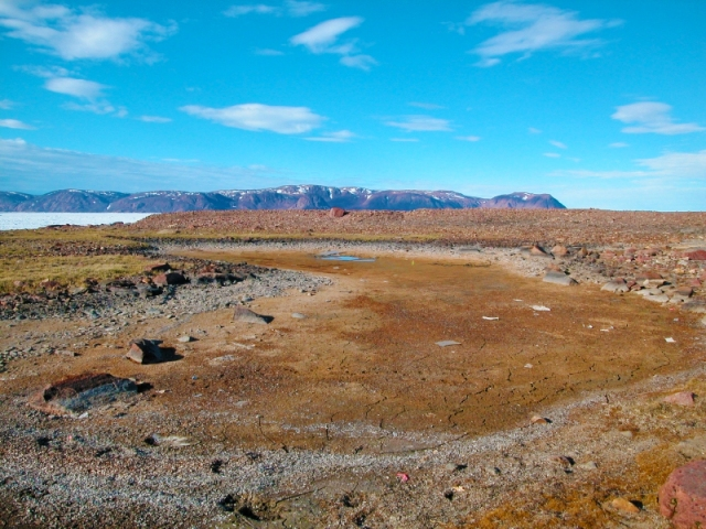 Une vue du cap Herschel à l'île d'Ellesmere, au Nunavut.