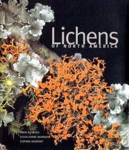 La couverture du livre Lichens of North America.