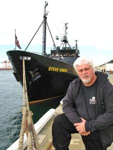 Une image tirée du film Eco-Pirate: The Story of Paul Watson.