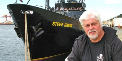 Une image tirée du film Eco-Pirate: The Story of Paul Watson.