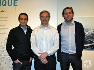 Shane Gero, Andrew Dumbrille et Nicholas Irving.