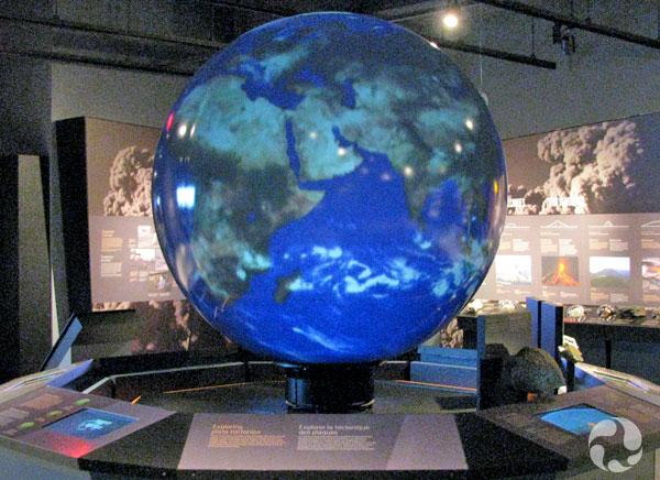 La Planète magique dans la galerie.
