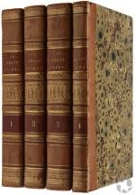 Quatre livres de la bibliothèque du professeur Steele.