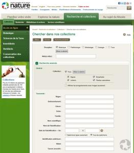 Saisie d'écran d'une page Web.