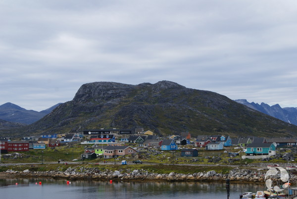 Vue de la communauté de Nanortalik.