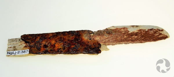 Fragment de canif.