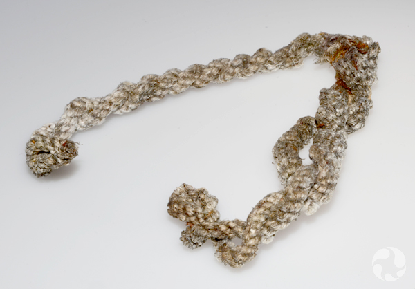 Un morceau de corde.