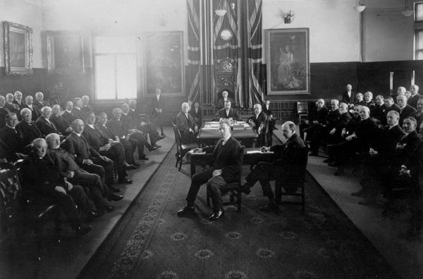 Le Sénat du Canada dans le Musée.