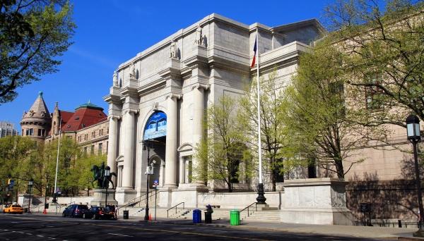 L'édifice de l'American Museum of Natural History.