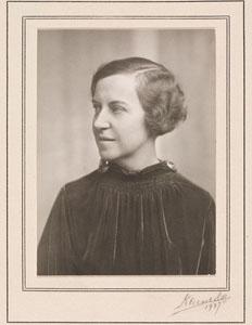 Portrait de Madeleine Fritz